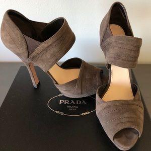 Prada heels!